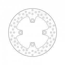 Rear brake disc Brembo KAWASAKI 550 ZR ZEPHYR 1993 - 2001