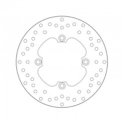 Rear brake disc Brembo HONDA 650 XL V TRANSALP 2000 - 2007
