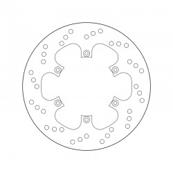 Rear brake disc Brembo BENELLI 300 BN 302 2014 -