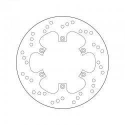 Rear brake disc Brembo BENELLI 600 BN GT 2014 -